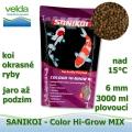 SaniKoi Colour Hi-Grow 6 mm, koi a okrasné ryby, jaro až podzim, 3000 ml