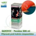 SaniKoi Paratex 500 ml, proti kožním cizopasníkům