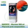 SaniKoi Wormex 500 ml, proti cizopasníkům
