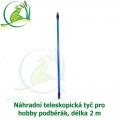 Náhradní teleskopická tyč k Hobby podběrákům.