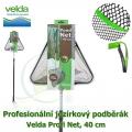 Profesionální jezírkový podběrák Velda Profi Net, trojúhelníková síťka, 40 cm