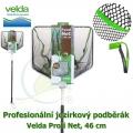 Profesionální jezírkový podběrák Velda Profi Net, čtvercová síťka, 46 cm