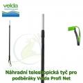 Náhradní teleskopická tyč k podběrákům Velda Profi Net, délka 180 cm