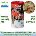Gold Flakes Basic Food 360 g/4000 ml, od 4°C, vločky, celoroční krmivo pro všechny druhy ryb