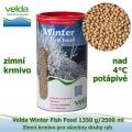 Winter Fish Food 1350 g/2500 ml, od 4°C, granule, zimní krmivo pro všechny druhy ryb