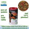 3-Colour Pellet Food 440 g/1250 ml, od 12°C, granule, jaro až podzim, všechny druhy ryb