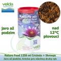 Nature Food 1250 ml Crickets + Shrimps, od 12°C, jaro až podzim, všechny druhy ryb