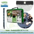 Velda Prefesionální síť 4x3 m, extra jemná, vysoce kvalitní, s úchyty na zakotvení do země