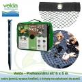 Velda Prefesionální síť 6x5 m, extra jemná, vysoce kvalitní, s úchyty na zakotvení do země