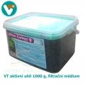 VT aktivní uhlí 1000 g, filtrační médium