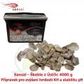 Sansai – lastury z ústřic 4000g, jako filtrační médium, přirodní zvyšování KH, stabilta pH