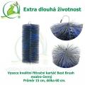 Vysoce kvalitní filtrační kartáč Best Brush modro-černý 60 x 15 cm. Extra dlouhá životnost !