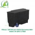 Filtrace  220 litrů pro nádrže Quarantine 600 l, včetně UV zářiče 11 Watt