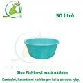Blue Fishbowl - Malá nádoba 50 litrů, kontrolní, karanténní nádoba pro koi a okrasné ryby