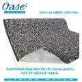 Kamínková fólie šíře 40 cm, barva granit, cena 311 Kč za 1 běžný metr při odběru celé role 25 m,