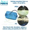 Mini Pond LOG, likvidátor zákalu a zelené vody, pro jezírka do 400 m3