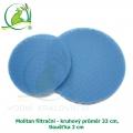 Molitan filtrační - kruhový průměr 33 cm, tloušťka 2 cm
