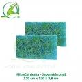Filtrační deska - Japonská rohož 120x100x3,8 cm
