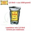 Lepelsteur mix 2,5 litrů - krmivo pro veslonose