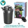 Tlaková filtrační sada VT VEX-300, pro jezírka do 15000 litrů, UV-C 11 Watt