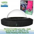 Plovoucí krmítko pro ryby, malé, průměr 56cm, výška 24cm - Velda Floating Fish Dome M, Fish Globe M