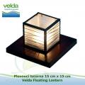 Plovoucí lucerna 15x15cm - Velda Floating Lantern