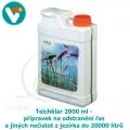 Teichklar 2000 ml - přípravek na odstranění řas a jiných nečistot z jezírka do 20000 litrů