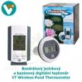 Bezdrátový jezírkový a bazénový digitální teploměr - VT Wireless Pond Thermometer