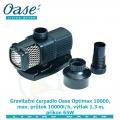 Gravitační čerpadlo Oase Optimax 10000 (Aquamax gravity), max. průtok 10000l/h, výtlak 1,3 m, příkon 65W, - Výprodej nového zboží, poškozená krabice.