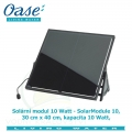 Solární modul 10 Watt - SolarModule 10, 30x40cm, kapacita 10 Watt, - Výprodej nového zboží, poškozená krabice.