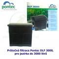 Průtočná filtrace Pontec DLF 3000, pro jezírka do 3000 litrů, - Výprodej nového zboží, poškozená krabice.