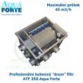 Profesionální bubnový ,drum filtr, ATF-350 Aqua Forte, maximální průtok 45 m3/h