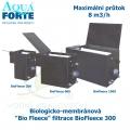 Biologicko-membránová Bio Fleece filtrace - BioFleece 300, maximální průtok 8 m3/h