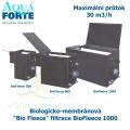 Biologicko-membránová Bio Fleece filtrace - BioFleece 1000, maximální průtok 30 m3/h