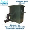Štěrbinový filtr Compact Sieve II, 300 mikronů, zelená verze