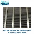 Síto 300 mikronů pro štěrbinový filtr Aqua Forte SmartSieve