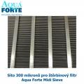 Síto 300 mikronů pro štěrbinový filtr Aqua Forte Midi Sieve