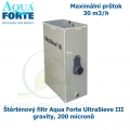 Štěrbinový filtr Aqua Forte UltraSieve III gravity, 200 micronů