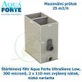 Štěrbinový filtr Aqua Forte UltraSieve Low , 300 micronů, 2 x 110 mm zvýšený nátok