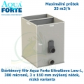 Štěrbinový filtr Aqua Forte UltraSieve Low-L , 300 micronů, 3 x 110 mm zvýšený nátok