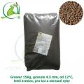 Grower 15Kg, granule 4,5 mm, od 12°C, letní krmivo, pro koi a okrasné ryby