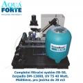Completní filtrační systém EB-50, čerpadlo DM-13000, UV T5 40 Watt, MidiSieve, pro jezírka do 20 m3
