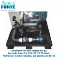Completní filtrační systém EB-60, čerpadlo Blue Eco 320, UV T5 75 Watt, MidiSieve-vysoká varianta, pro jezírka do 36 m3