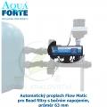 Automatický proplach Flow Matic pro Bead filtry s bočním napojením, průměr 63 mm