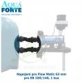 Napojení pro Flow Matic 63 mm pro EB 100/140, 1 kus