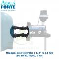 Napojení pro Flow Matic 1 1/2 na 63 mm pro EB 40/50/60, 1 kus