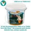 Bio Draadalgenstop 2500 ml na 75000 litrů (Bio AlgaeStop, Bio fadenalgenstop) - Bio preparát proti dlouhé vláknité řase, snižuje vysoké pH (Bio string algae stop)