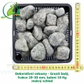 Dekorativní valouny - Granit šedý, frakce 20-30 mm, balení 10 Kg