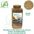 Wheatgerm 5 litrů, granule 6 mm, plovoucí krmivo i do nízkých teplot, pro koi a okrasné druhy ryb
