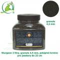 Sturgeon 2 litry, granule 4,5 mm, potápivé krmivo pro jesetery do 25 cm